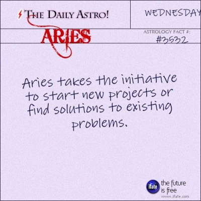 "Aries 3532: Visit The Daily Astro for more Aries facts.These are the best ""love horoscopes"" on the web! :)"