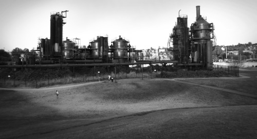 Gas Works Park - the site of the former Seattle Gas Light Company - Seattle, Washington