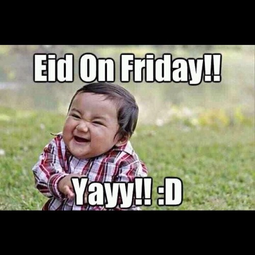@ms_beelah sent this to me. Made me LOL loud! #eid #mubarak