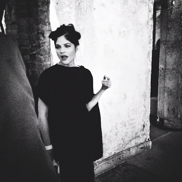 Selma Blair from last night at the Margiela x H&M party. #latergram (at 5 Beekman Street)