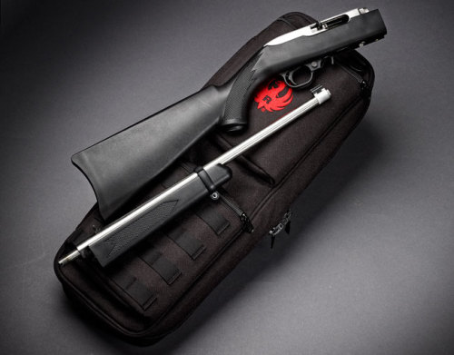 45-9mm-5-56mm:  hhshootingsports:  The Ruger 10/22 Takedown combines functionality with portability.   TumbleOn)  Yeah this is on my want list