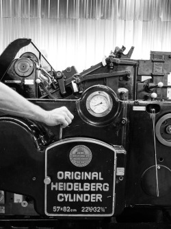 denizmerdano:  Original Heidelberg Drum, printing +90 covers!