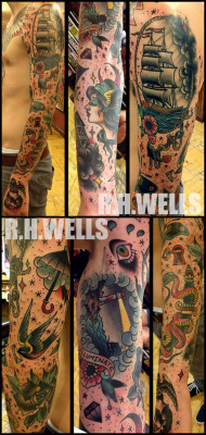 Le R.H. Wells Sleeve  Ron Henry Wells