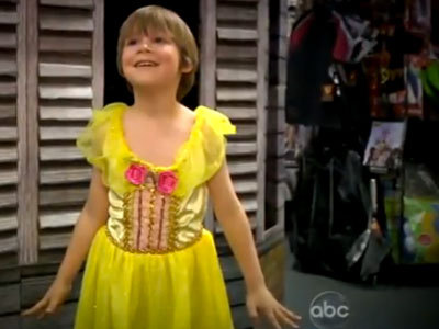 Little Boy Learns He Can't Be A Princess For Halloween