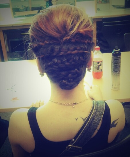 My hair. #Tat
