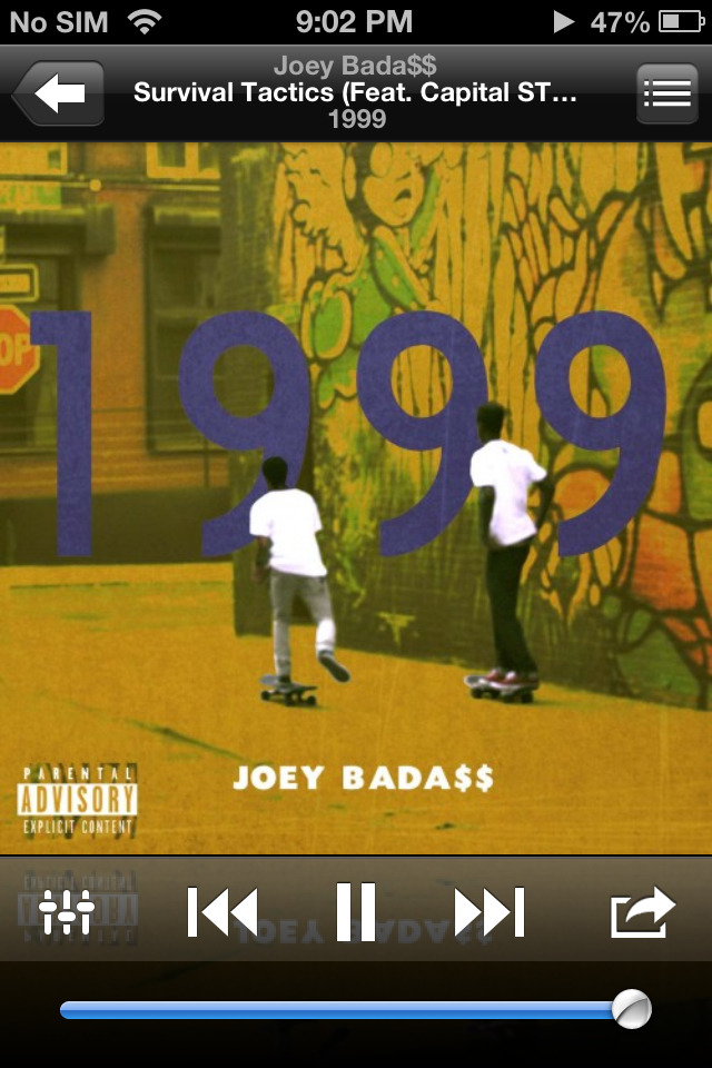 Joey Bada$$ is that nigga