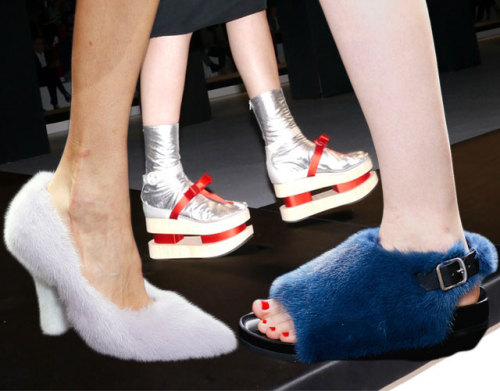 The craziest shoes of spring 13 #Weird