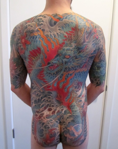 The Mike Rubendall backpiece is done.  Read about it at http://bodysuittofit.blogspot.com/