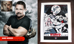 Bid on a silkscreened artist poster signed by Jason Voorhees himself, Kane Hodder! 100% of the profits go to charity. Auction ends on Halloween day. Read on for more…
