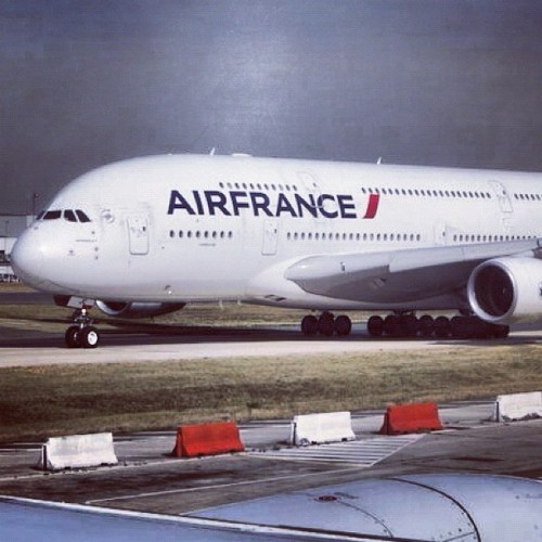 #A380 taxing at #CDG