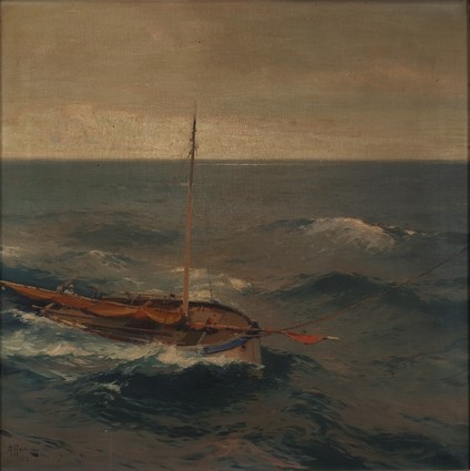 Storm at Sea, 1926 by Aleksej Vasiljević Hanzen 1876.-1937