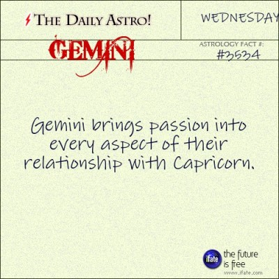 Gemini 3534: Check out The Daily Astro for facts about Gemini...and click here for the web's best horoscopes!