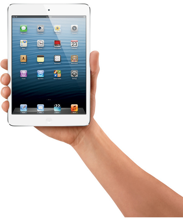(via iPad Mini Tablet: Visual Tour — InformationWeek) A friend just suggested I should be the iPad Mini for Halloween. Should I?  Need to start sifting through old computer boxes now…