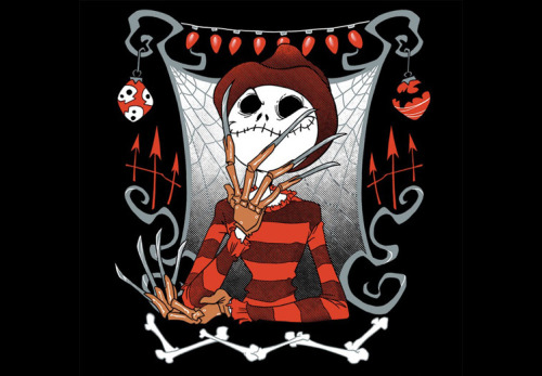 Geek Gear: 'Nightmare in Pumpkin Land' Shirt. Would you wear it? I sure as hell would!