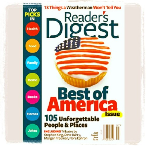 Reader's Digest July / August 2012 Issue  *in pdf format  *also available June 2012 to November 2012 Issues  #ezines #forsale #magazine #reader #cheap #igersmanila
