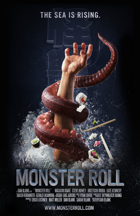 laughingsquid:  Monster Roll, Short Film About Sushi Chefs Battling Giant Sea Monsters