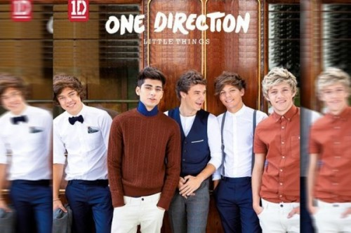 New album cover for 'Little Things'