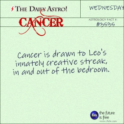 Cancer 3535: Visit The Daily Astro for more facts about Cancer.and get a free online I Ching reading here