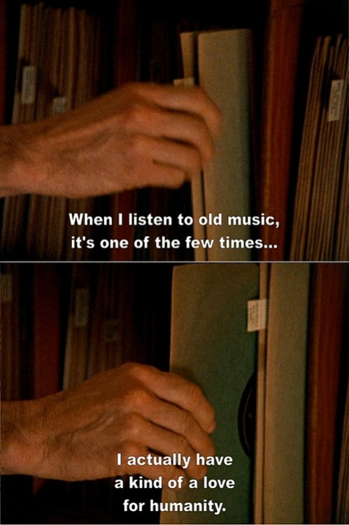 When I listen to old music…