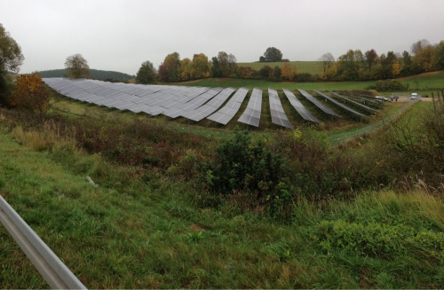 Solar Modules Array