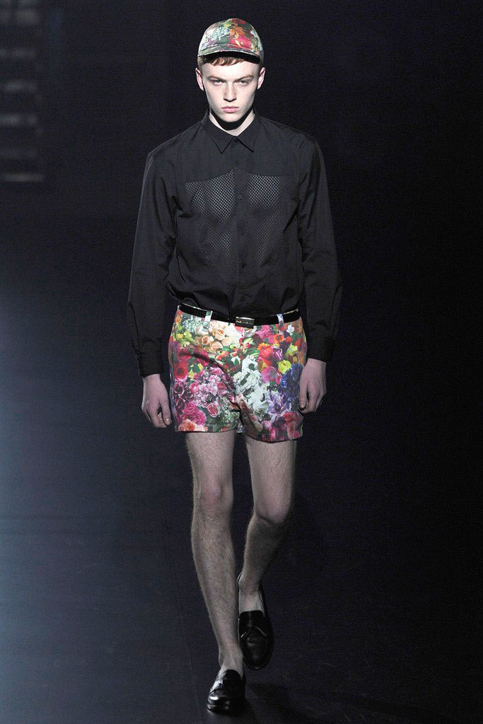 Jake Shortall walking for Tokyo Fashion Week Phenomenon SS13