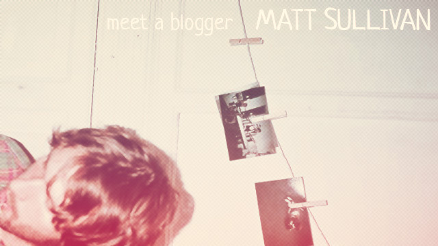 prtls:  Meet A Blogger feat. Matt Sullivan of Ad Hoc Meet a Blogger is a new feature wherein we chat with some of our favorite bloggers about our respective love for blogs. The blogosphere houses some of the most creative minds in the world, and we aim to highlight as many of them as we can. It's a fascinating sub-culture, and Meet a Blogger looks to further enrich our readers of its overall necessity. This time we got a chance to chat with blog savant Matt Sullivan of such acclaimed blogs as Altered Zones (RIP), Impose Magazine, and currently for our friends over at Ad Hoc. Read the interview here
