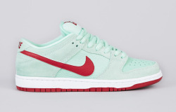 Nike SB Dunk Lo Medium Mint via »