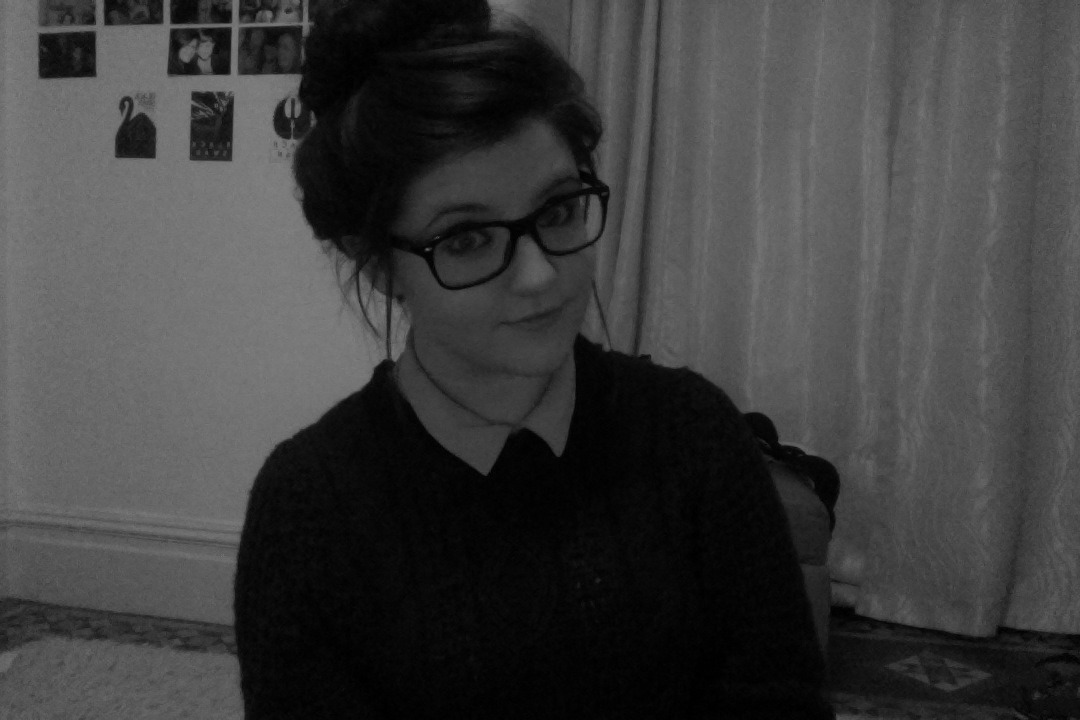 I got my hair up in a bun for the first time, this is an accomplishment for me. I am also wearing my favourite jumper ever.