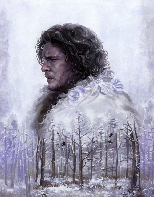 arkhane:  Jon Snow and Tyrion Lannister Game of Thrones illustrations by Danielle Storey