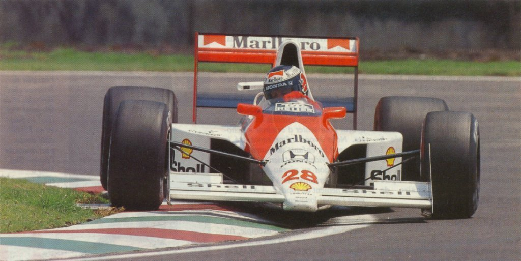 Mclaren MP4-5B car #28 Gerhard Berger