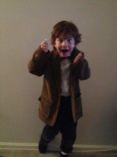 prince-hiddleston:  my cousin, jax, is being eleven for halloween. go ahead. explode from the cuteness.