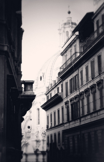 Buildings in Rome by Stacey Bramhall