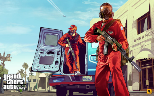 New GRAND THEFT AUTO V artwork teased today