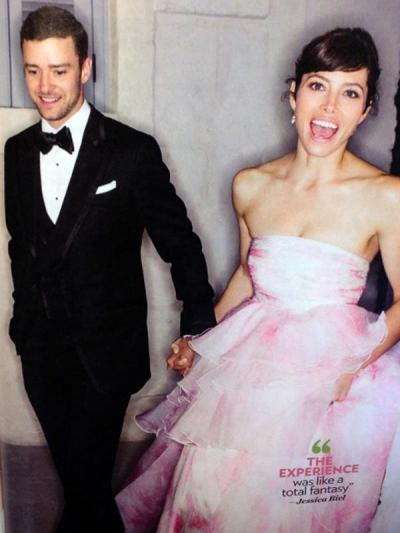 Mr. and Mrs. Justin Timberlake