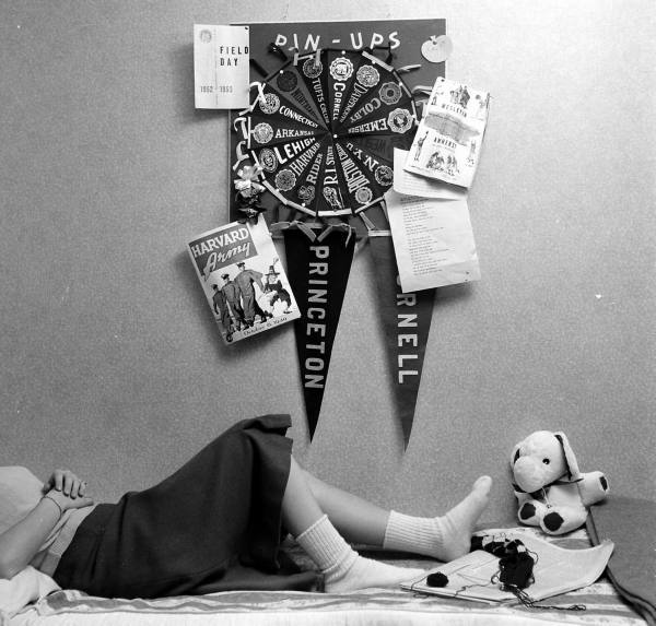 Wellesley College, 1949. By Nina Leen.