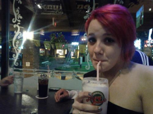 my first legal drink. <3