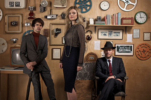 The Hour's Romola Garai, Dominic West and Ben Whishaw talk fashion and the 50s with The Guardian