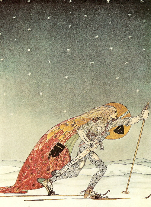 youroboros:  Kay Nielsen  Kay is King