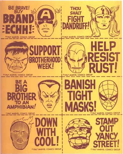 MMMS Fan Club stickers (1966)