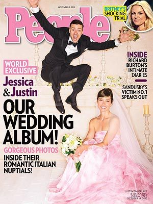"""It was a really special evening.""  - Newlywed Justin Timberlake, on his romantic Italian nuptials with Jessica Biel, to PEOPLE"