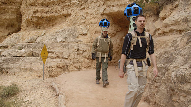 jomc:  (via Google's Street View Sherpas Tackle the Grand Canyon - Alexis C. Madrigal - The Atlantic)