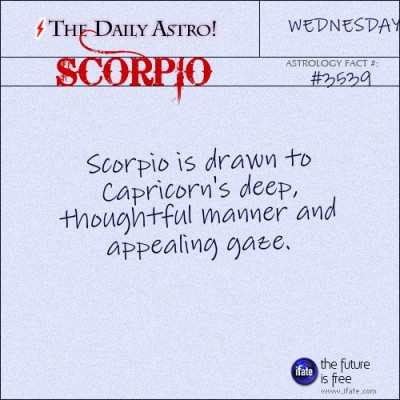 Scorpio 3539: Visit The Daily Astro for more facts about Scorpio.Click here for a free tarot reading :)
