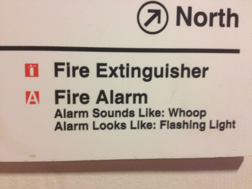 I hear the fire alarm is even more fun on Ecstasy.