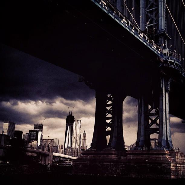 On location for Calvin Klein. Dumbo, Brooklyn. September 2012 - Fabien Baron (taken with Instagram) @fabienbaron