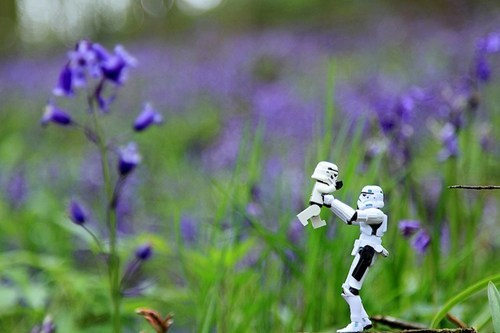 thedailywhat:  The Secret Family Life Of Stormtroopers of the Day: Courtesy U.K. photographer Andy Wells. Don't miss the rest of the collection. [mmm]