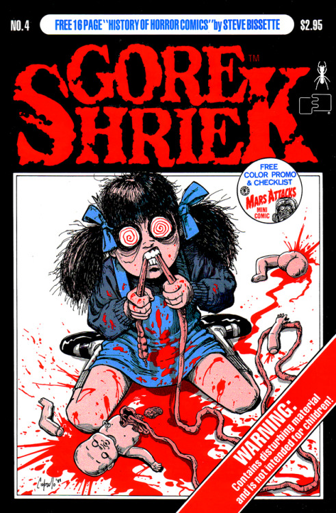 Gore Shriek No.4 (1988) cover by Greg Capullo