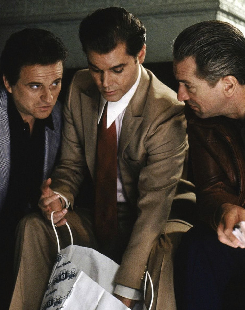 nasty-like-nas:  Tommy, Henry, and Jimmy. GoodFellas