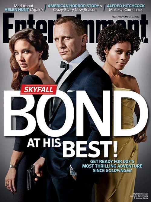 entertainmentweekly:  This week in EW: Bond is back. Martini, anyone?