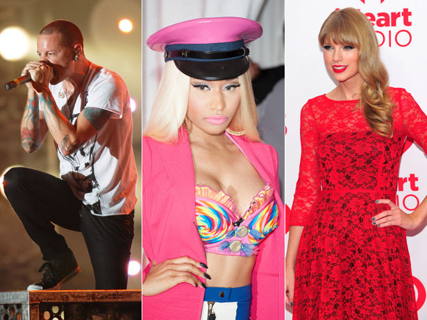 Nicki Minaj, Taylor Swift and Linkin Park are billed to perform at the 2012 American Music Awards. We can only hope it's all at the same time.