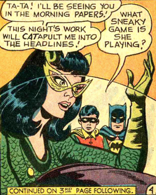 superdames:  No pun unintended. —Batman #197 (1967) by Gardner Fox & Frank Springer, inked by Sid Greene